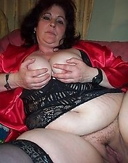 lonely fat mature woman